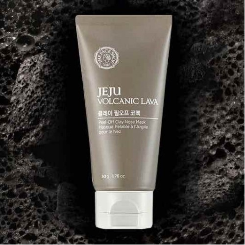 lột mụn jeju volcanic lava 50g the face shop
