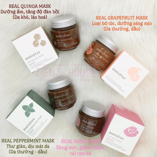 mặt nạ dạng rữa real mask innisfree (hủ)