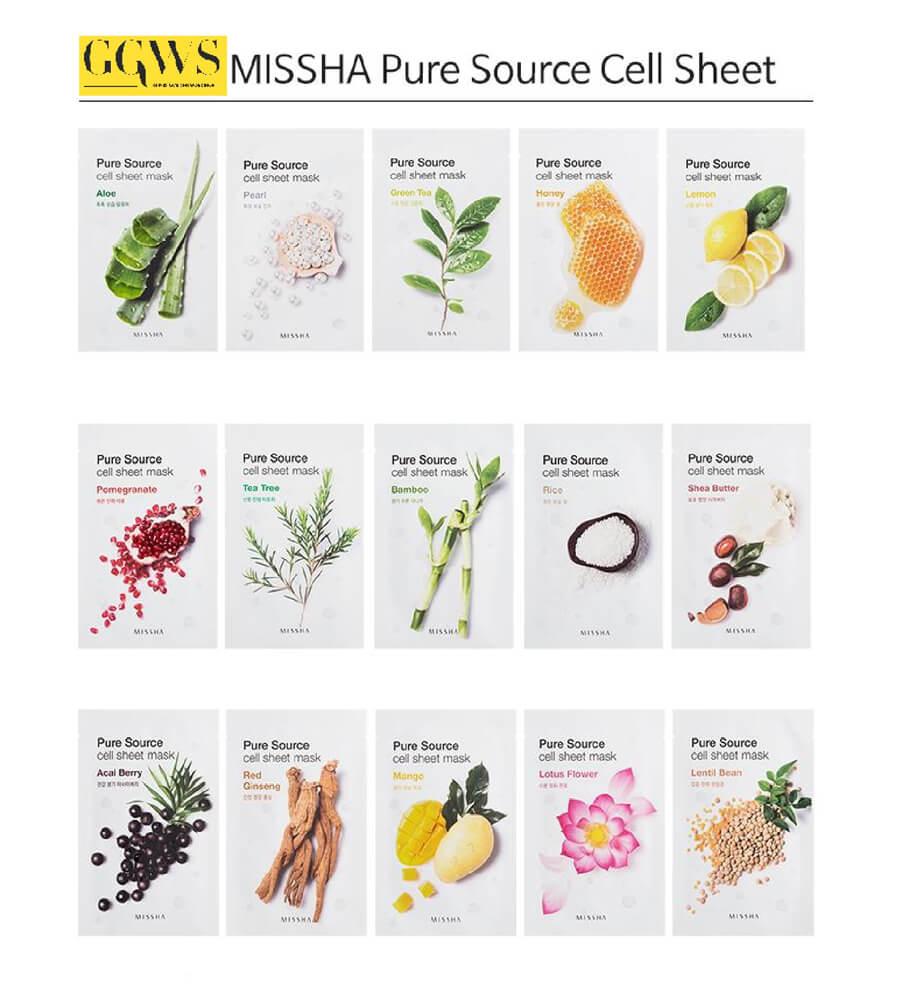 Mặt nạ Missha Pure Source Cell Sheet Mask