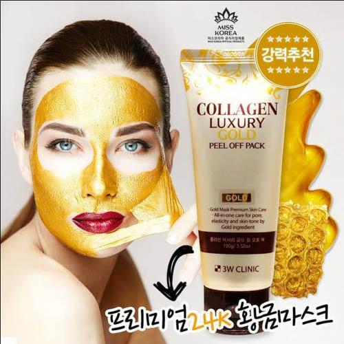 Mặt Nạ Vàng Collagen Luxury Gold Peel Off Pack 100g