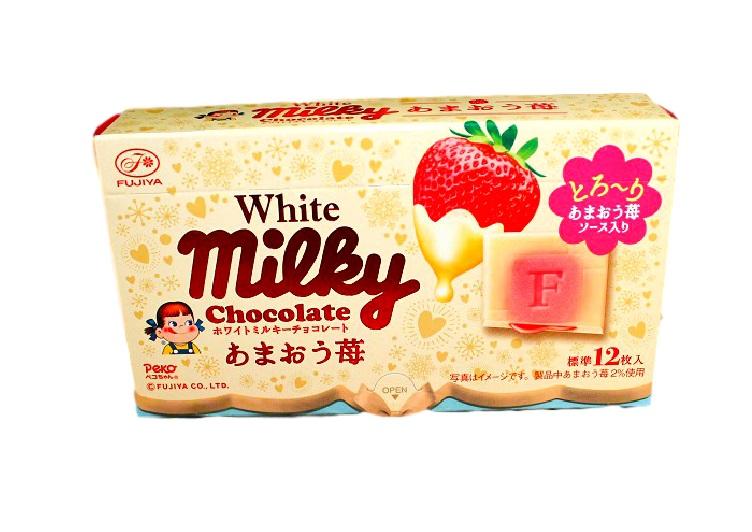 chocolate white milky (socola dâu Nhật)