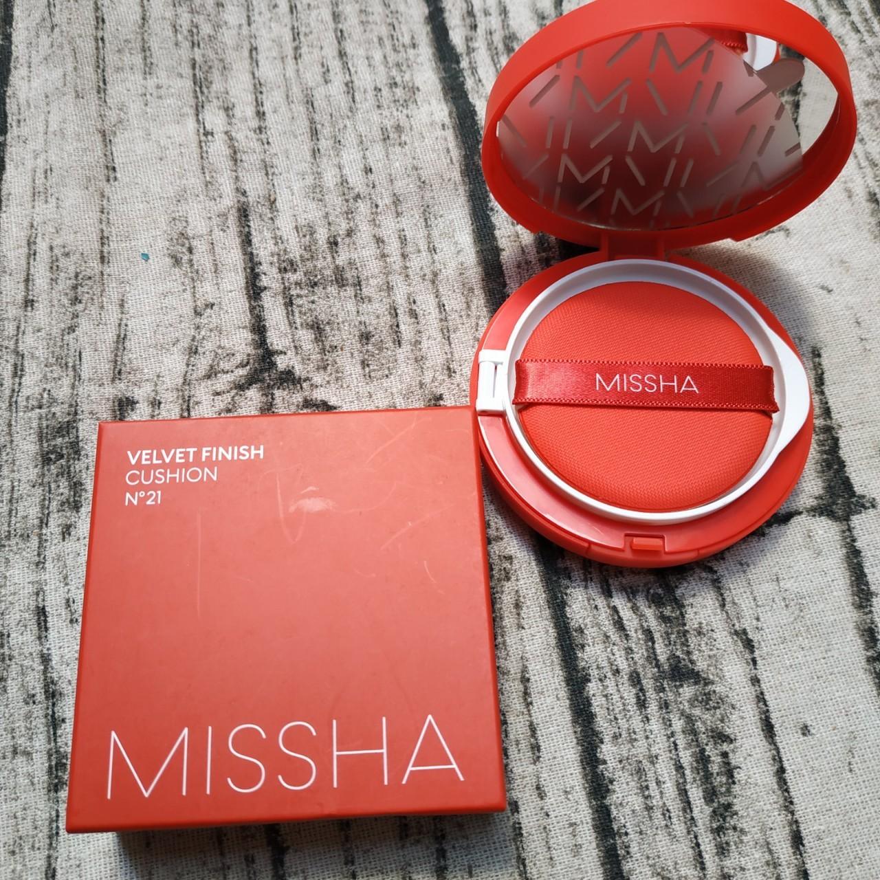 Phấn nước Missha Velvet Finish Cushion (Vỏ Đỏ)