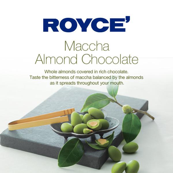 chocola matcha almond