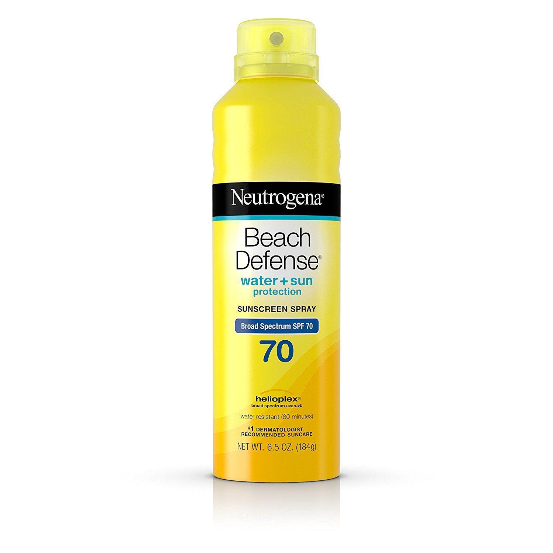 xịt chống nắng neutrogena  spf 70  vàng (184g)