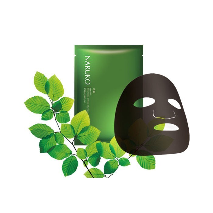Mặt Nạ trị mụn Naruko Tea Tree Shine Control & Blemish Clear Mask