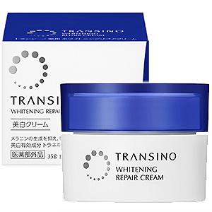 Kem Dưỡng Trắng Tái Tạo Da Transino Whitening Repair Cream Japan 35g
