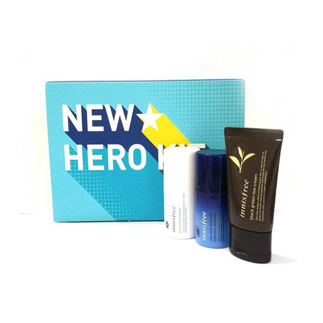 set 3 món new hero kit innisfree for vvip