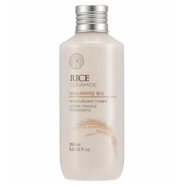 Nước hoa hồng gạo Rice ceramide moisture toner – The face shop