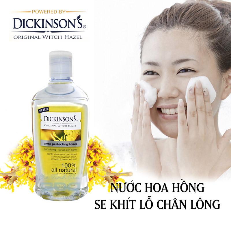 NƯỚC HOA HỒNG SE KHÍT LỖ CHÂN LÔNG DICKINSON S PORE PERFECTING TONER