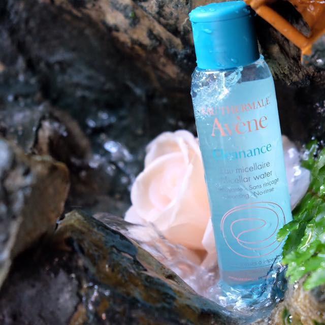 Tầy trang Avene cleanance micellar water 100ml (da dầu)