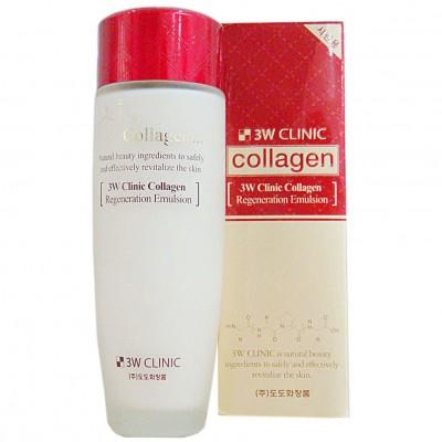 Nước Hoa Hồng Collagen 3W Clinic (đỏ)