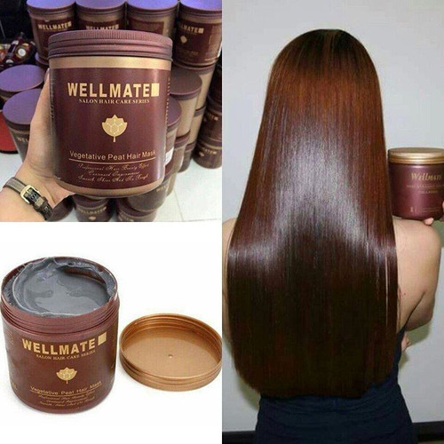 Kem Ủ Tóc Wellmate Vegetative Peat Hair Mask Ý 1000ml