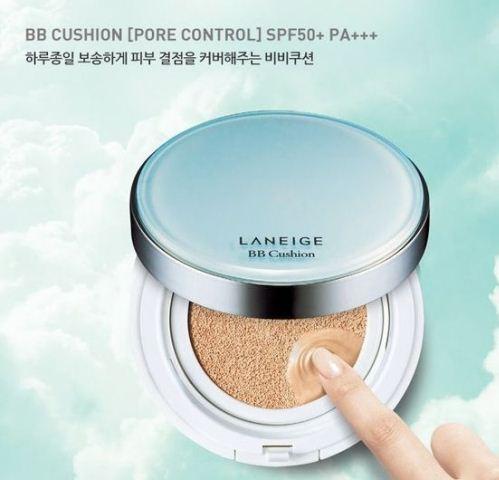 Phấn nước Laneige BB Cushion Pore Control (kềm dầu tặng kèm lõi)
