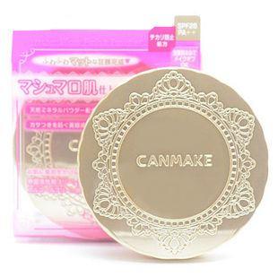 Phấn phủ Canmake marshmallow finish powder 10g (Nhật)