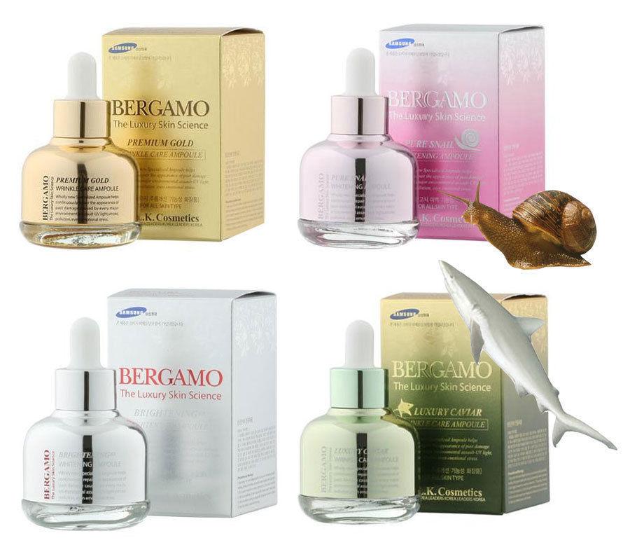 Tinh chất serum Bergamo Luxury Skin Science (30ml)