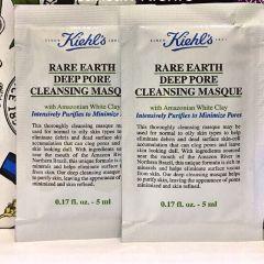 SAMPLE MẶT NẠ ĐẤT SÉT KIEHL S RARE EARTH DEEP PORE CLEANSING MASQUE (Trắng)