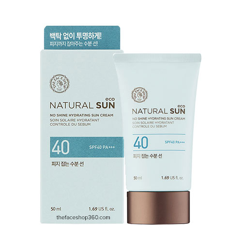 KCN The Faceshop Natural Sun Eco SPF 40 +++
