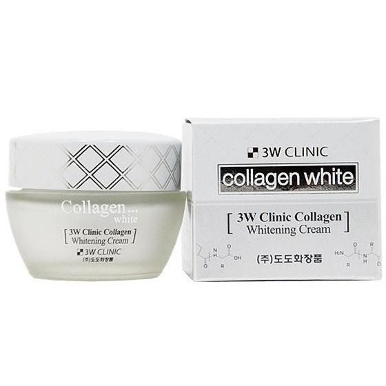 kem dưỡng trắng da 3w collagen white cream 60ml