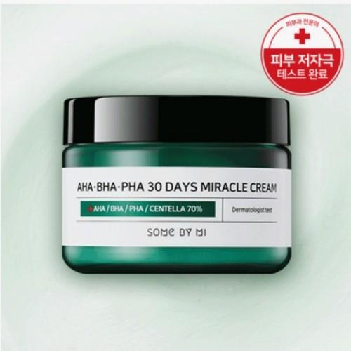 Kem Dưỡng Trị Mụn Some By Mi AHA-BHA-PHA 30 Days Miracle Cream