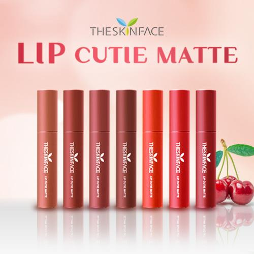 SON KEM LÌ THE SKIN FACE LIP CUTIE MATTE