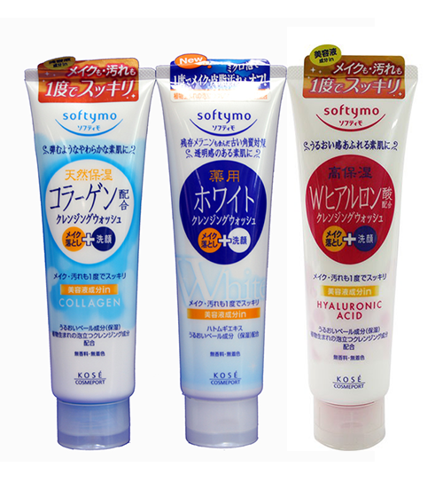 Sữa rửa mặt Kose Softymo Nhật Bản