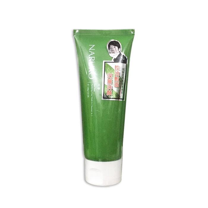 Sữa Rửa Mặt Naruko Tea Tree Purifying Clay Mask & Cleanser In 1 (120g) (xanh)