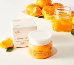 kem dưỡng trắng da tangerine vita c gel cream innisfree