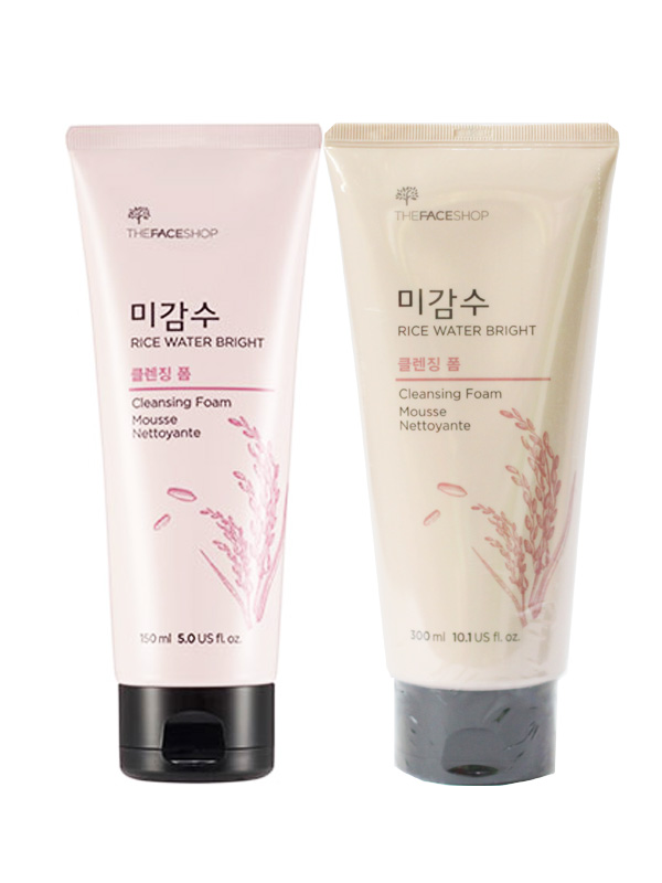 sữa rửa mặt gạo The faceshop Rice water bright cleansing foam