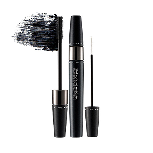 mascara curling 2in1 the face shop