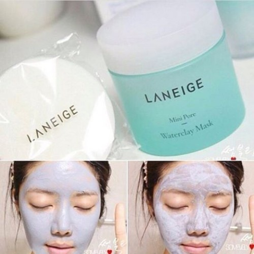 Mặt Nạ Đất Sét Se Khít Lỗ Chân Lông Laneige Mini Pore Waterclay Mask