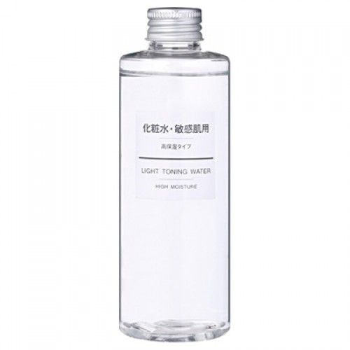Nước hoa hồng Muji Light Toning Water High Moisture 200ml