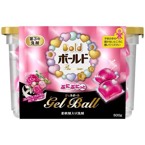 Banh Giặt Nhật 18 viên Gel ball (hồng)