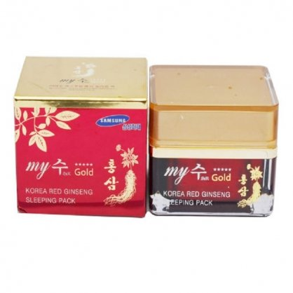 kem hồng sâm my gold korea red ginseng sleeping pack (đêm)