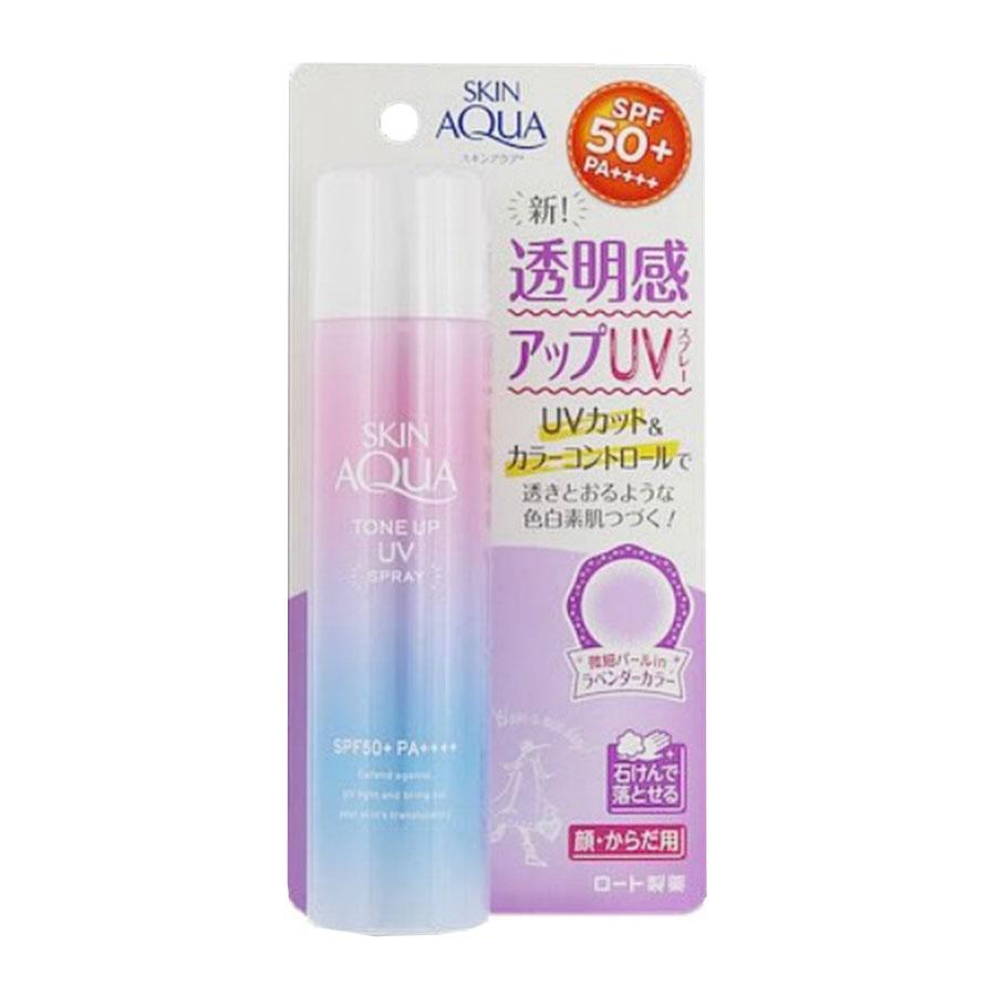 Xịt chống nắng Skin Aqua Tone Up UV SPF 50+ PA+++