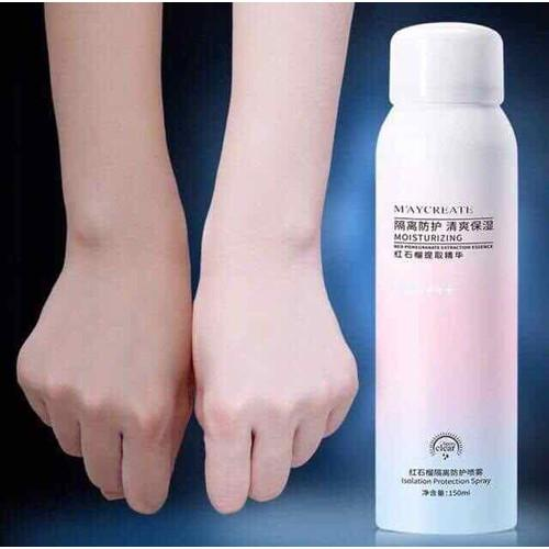 Xịt Chống Nắng Makeup body MAYCREATE