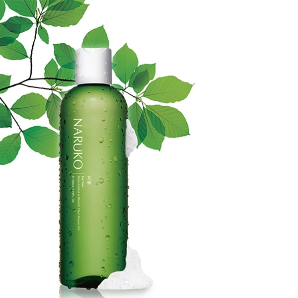 Sữa Tắm Naruko Tea Tree Shine Control & Blemish Clear Shower Gel (250ml)
