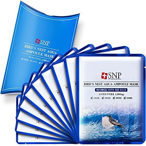 Mặt Nạ Tinh Chất Tổ Yến  SNP Birds Nest Aqua Ampoule Mask