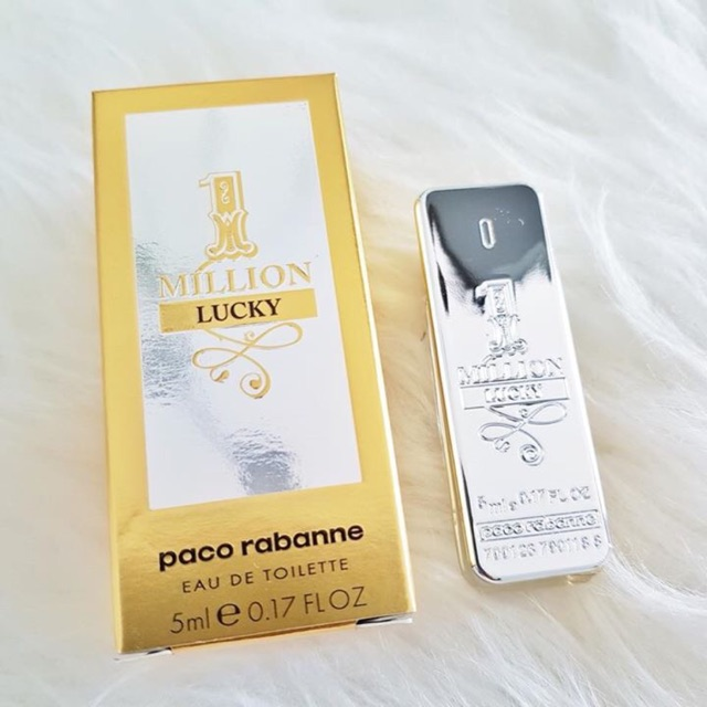 Nước Hoa Mini Paco Rabanne 1 Million Lucky for men (5ml)