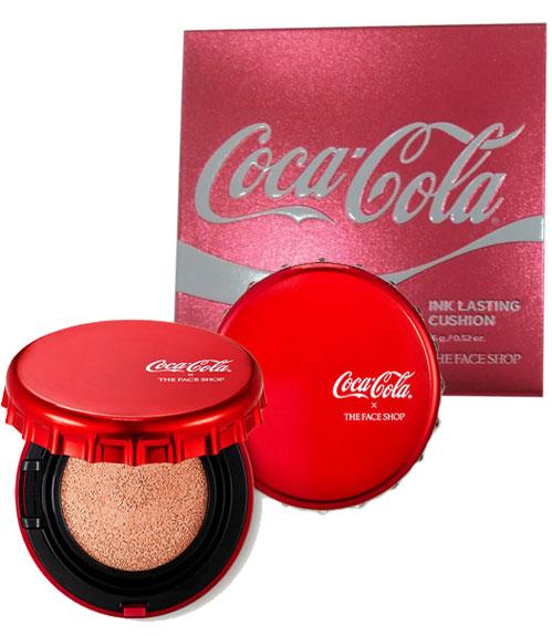 Phấn Nước The Face Shop Ink Lasting Cushion Coca Cola Special Edition