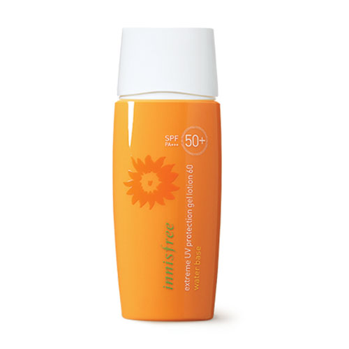 KCN Gel Innisfree Extreme UV Protection Gel Lotion 60 Water Base SPF50+ PA+++