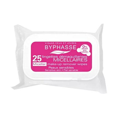 Khăn Giấy Tẩy Trang Byphasse Micellar 25 Miếng