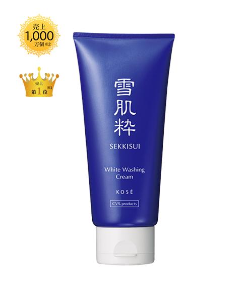 Sữa rửa mặt trắng da Kose Sekkisui White Washing Cream 80g