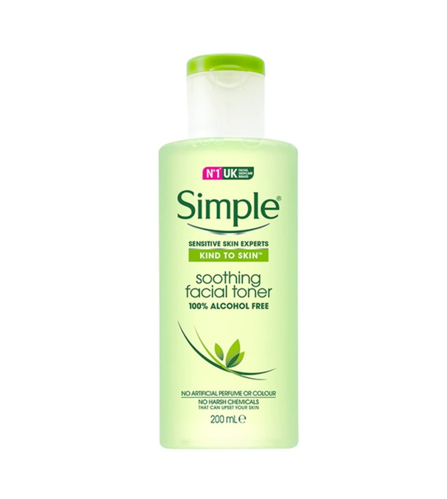 Nước Hoa Hồng Simple Soothing Facial Toner ( 200ml )