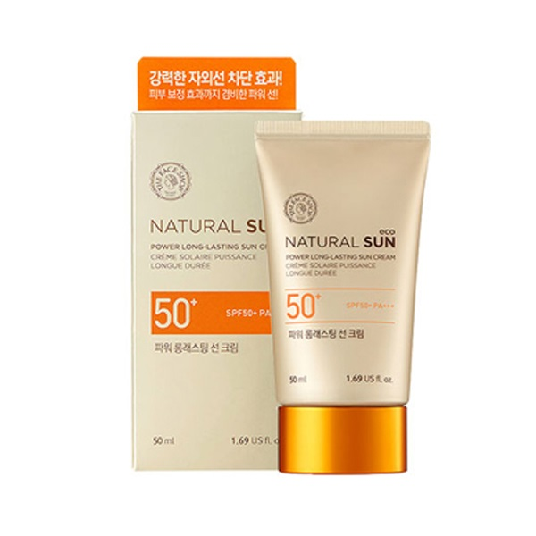 Kem chống nắng Natural Sun Eco Power Long Lasting Sun Cream SPF50+ PA+++ (50ml)