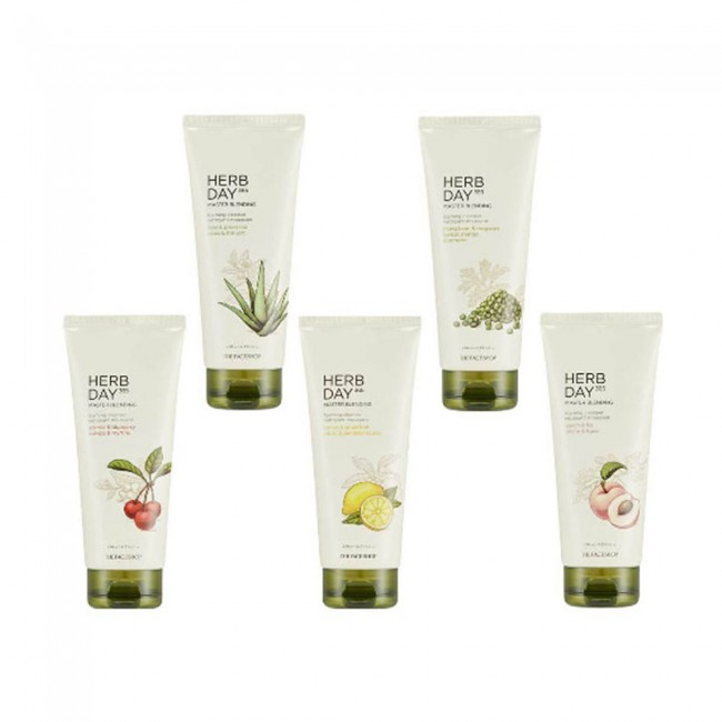 ( 2019 NEW) Sữa rửa mặt Herb Day 365 Cleansing Foam The Face Shop ( 2019 NEW)