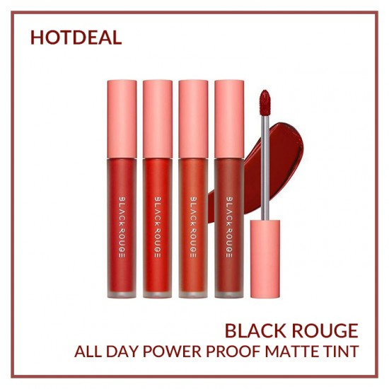 Son kem lì Black Rouge Power Proof Matte Tint